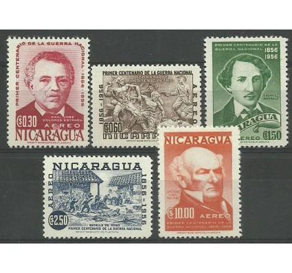 Znaczek Nikaragua 1956 Mi 1116-1120 Czyste **