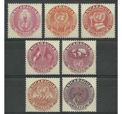 Znaczek Nikaragua 1954 Mi 1065-1071 Z podlepką *
