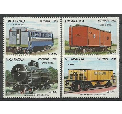 Znaczek Nikaragua 1983 Mi 2387-2390 Czyste **