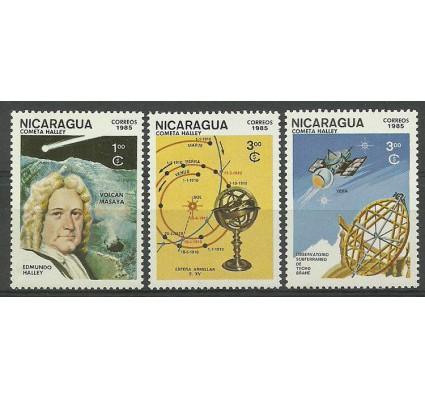 Znaczek Nikaragua 1985 Mi 2621-2623 Czyste **