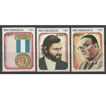 Znaczek Nikaragua 1987 Mi 2735-2737 Czyste **
