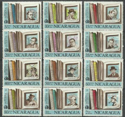 Znaczek Nikaragua 1972 Mi 1685-1696 Czyste **