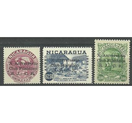 Znaczek Nikaragua 1960 Mi 1243-1245 Czyste **
