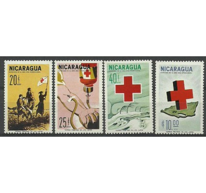Znaczek Nikaragua 1965 Mi 1372-1375 Czyste **