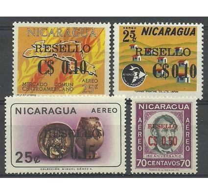 Znaczek Nikaragua 1969 Mi 1497-1500 Czyste **