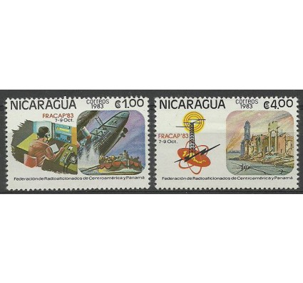 Znaczek Nikaragua 1983 Mi 2447-2448 Czyste **