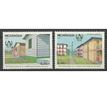 Znaczek Nikaragua 1987 Mi 2797-2798 Czyste **