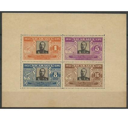 Znaczek Nikaragua 1938 Mi ark 856-859 Czyste **