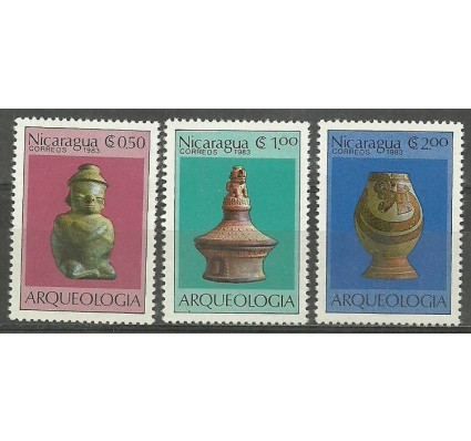 Znaczek Nikaragua 1983 Mi 2441-2443 Czyste **