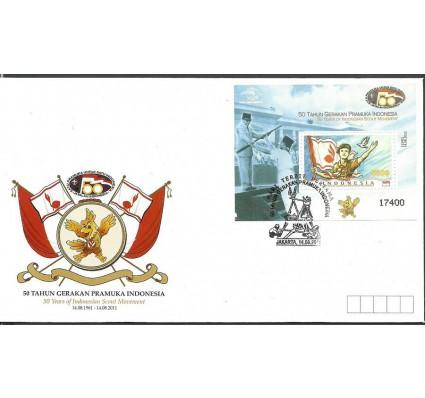 Znaczek Indonezja 2011 Mi bl 275 FDC
