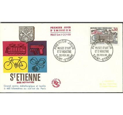 Znaczek Francja 1960 Mi 1291 FDC