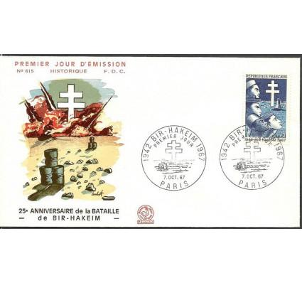 Znaczek Francja 1967 Mi 1599 FDC