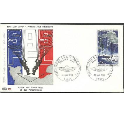 Znaczek Francja 1969 Mi 1674 FDC