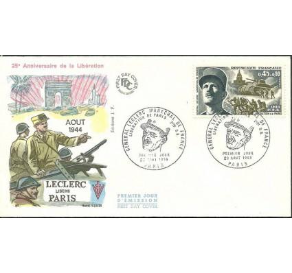 Znaczek Francja 1969 Mi 1681 FDC