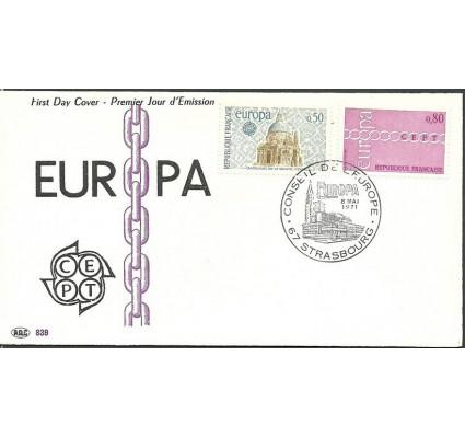 Znaczek Francja 1971 Mi 1748-1749 FDC