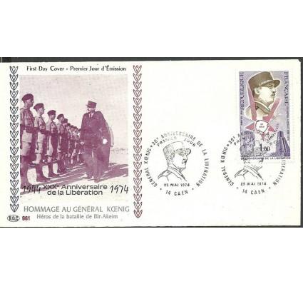 Znaczek Francja 1974 Mi 1875 FDC