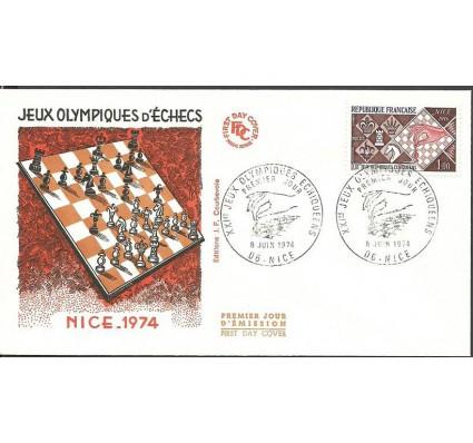 Znaczek Francja 1974 Mi 1878 FDC