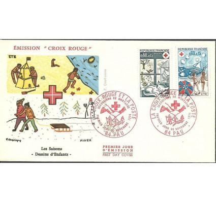 Znaczek Francja 1974 Mi 1898-1899 FDC