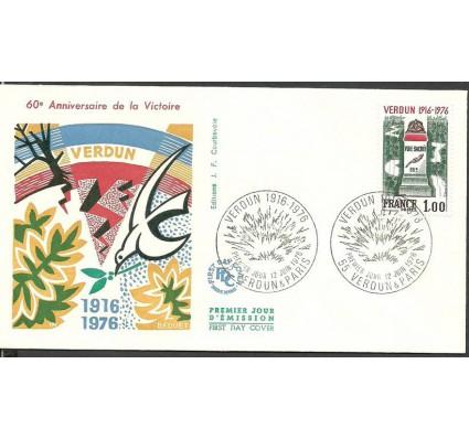 Znaczek Francja 1976 Mi 1967 FDC