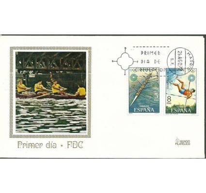 Znaczek Hiszpania 1972 Mi 1995-1996 FDC