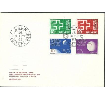 Znaczek Szwajcaria 1963 Mi 782-785 FDC