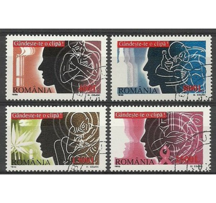 Znaczek Rumunia 1999 Mi abo 5421-5424 Czyste **