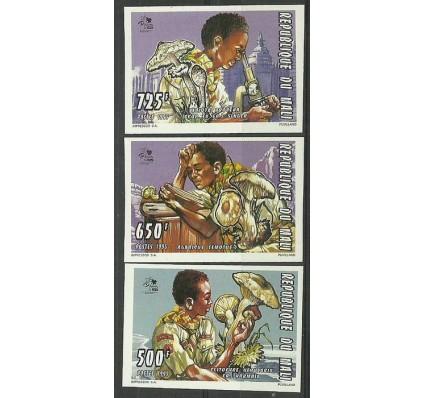 Znaczek Mali 1995 Mi 1354-1356B Czyste **
