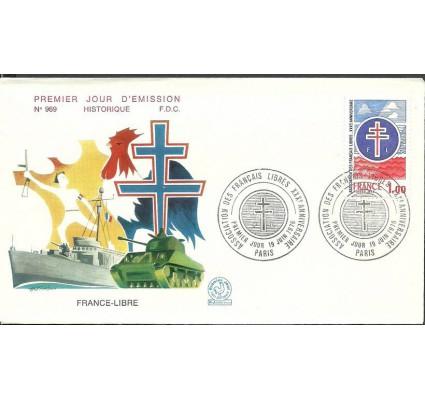 Znaczek Francja 1976 Mi 1969 FDC