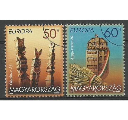 Znaczek Węgry 1998 Mi spe 4514-4515 Czyste **