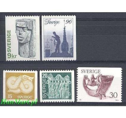 Znaczek Szwecja 1976 Mi 954-958 Czyste **