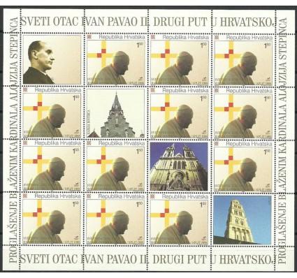 Znaczek Chorwacja 1998 Mi ark 484 Czyste **