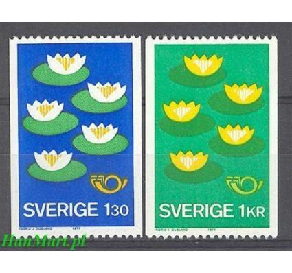 Szwecja 1977 Mi 972-973 Czyste **