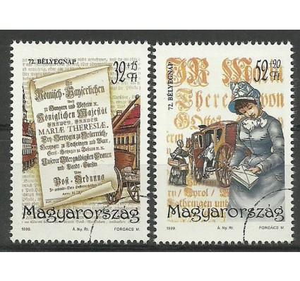 Znaczek Węgry 1999 Mi spe 4553-4554 Czyste **