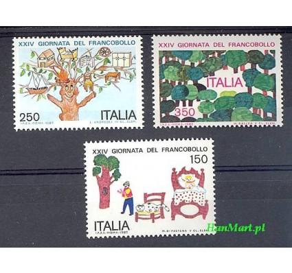 Włochy 1982 Mi 1818-1820 Czyste **