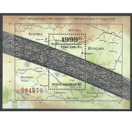 Znaczek Węgry 1999 Mi spe bl 247 Czyste **