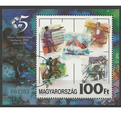 Znaczek Węgry 1999 Mi spe bl 249 Czyste **