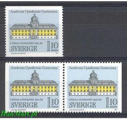 Szwecja 1977 Mi 988a,dl,dr Czyste **