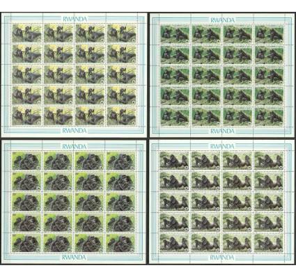 Znaczek Rwanda 1985 Mi ark 1292-1295 Czyste **