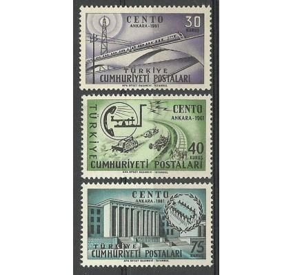 Znaczek Turcja 1961 Mi 1801-1803 Czyste **