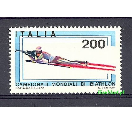 Włochy 1983 Mi 1825 Czyste **