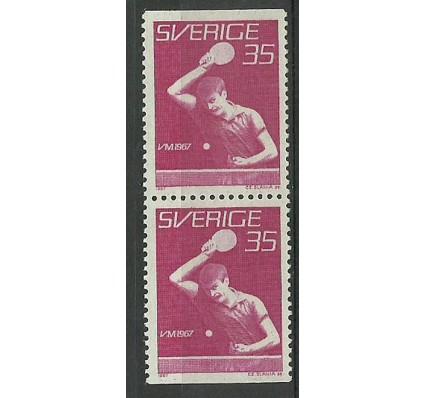 Znaczek Szwecja 1967 Mi 578DoDu Czyste **