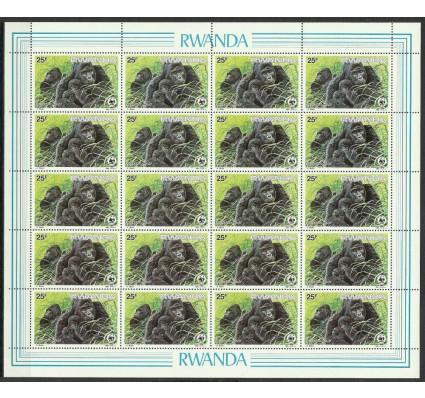 Znaczek Rwanda 1985 Mi ark 1294 Czyste **
