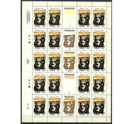 Znaczek Tonga 1985 Mi ark 929 Czyste **