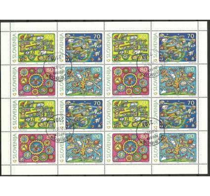Znaczek Słowenia 1999 Mi ark 268-271 Stemplowane