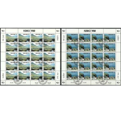 Znaczek Wyspy Owcze 1993 Mi ark 246-247 Stemplowane