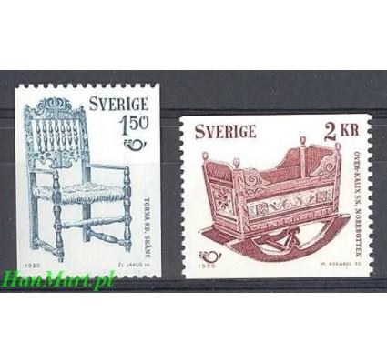 Szwecja 1980 Mi 1115-1116 Czyste **