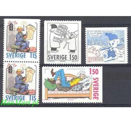Szwecja 1980 Mi 1124-1127 Czyste **