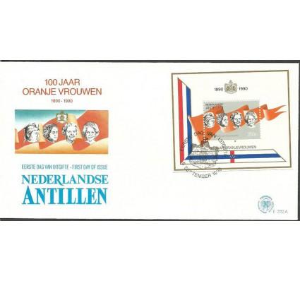 Znaczek Antyle Holenderskie 1990 Mi bl 36 FDC