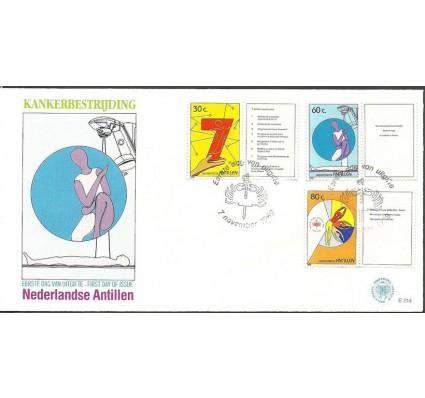 Znaczek Antyle Holenderskie 1989 Mi zf 668-670 FDC