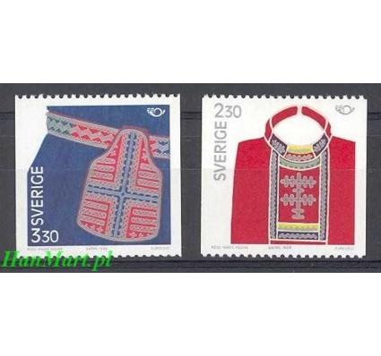 Szwecja 1989 Mi 1537-1538 Czyste **